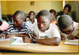 Over the past decade, Senegal has increased the proportion of children enrolled in primary school.  Photo : ©AfricaPhotos.com