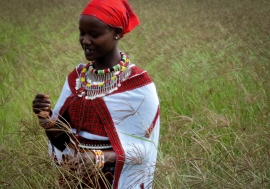 In Kenya and around the world, women farmers often lead the way in adopting sustainable agricultural practices. Photo: Leonard Odini/UNDP Kenya
