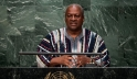 President John Dramani Mahama of Ghana addresses the general debate of the General Assembly's seventieth session. UN Photo/Cia Pak