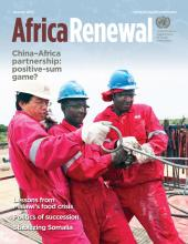 Africa Renewal Magazine January 2013
