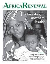 Africa Renewal Magazine January 2008