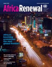 Africa Renewal Magazine August 2012