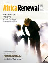 Africa Renewal Magazine April 2011