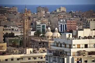 A view of the old town of Benghazi, Libya. Photo: UNSMIL/Iason Athanasiadis