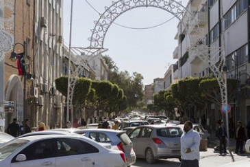 A busy day on Mizran Street in central Tripoli, the Libyan capital. Photo: UNSMIL/Abbas Toumi