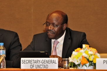 UNCTAD Secretary-General Mukhisa Kituyi. Photo: UNCTAD