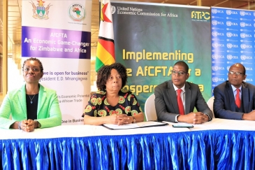 Validation of Zimbabwe's Implementation Strategy for the AfCFTA in Harare. Photo: UNECA