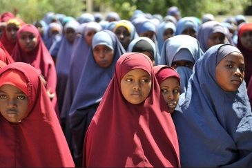 Students at the Hamar Jajab School in Mogadishu, Somalia on 20 January 2015. UN Photo/Ilyas Ahmed