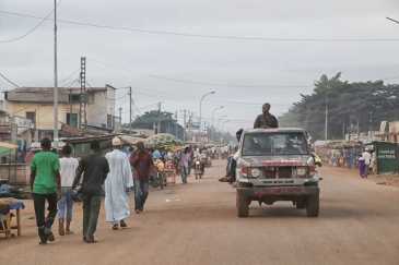 A street scene in Bangui, capital of the Central African Republic (CAR). Photo: MINUSCA