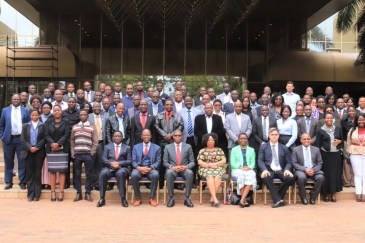 Participants at the validation of Zimbabwe's Implementation Strategy for the AfCFTA in Harare. Photo: UNECA