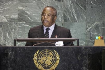 Festus Mogae, served as the president of the southern African country of Botswana from 1998 to 2008.