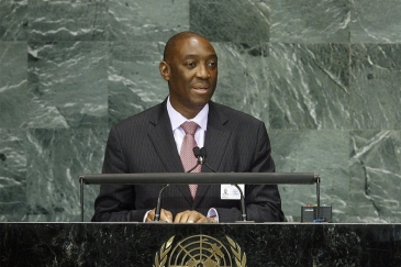Foreign Minister Oldemiro Baloi of Mozambique