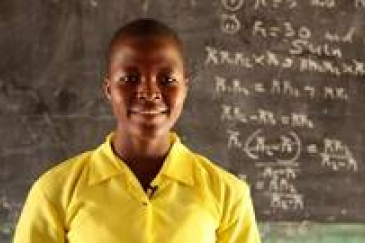 A positive start for the first Science, Technology, Engineering, and Mathematics (STEM) clinic in Ghana marks the beginning of a new chapter for girls' participation in STEM education. GPE / Stephan Bachenheimer