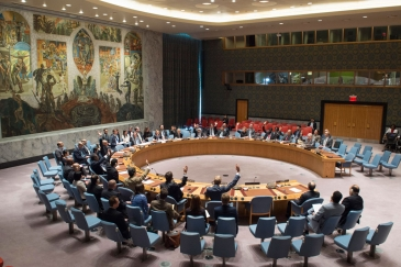 Security Council votes to extend mandate of UN Support Mission in Libya (UNSMIL). UN Photo/Eskinder Debebe