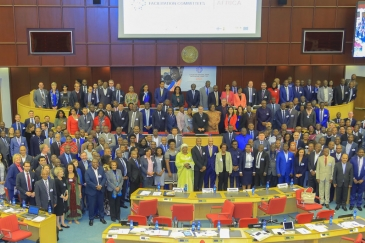 Participants at the African Forum for National Trade Facilitation Committees, 2018, Addis Ababa, Ethiopia. Photo Credits: UNCTAD