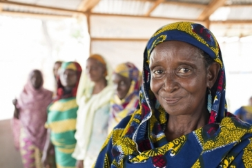 Ms. Ardo Djibo Fadimatou who lost eight of her 15 children during the conflict in Central African Republic. COVID-19 will be a double burden to women in conflict areas.