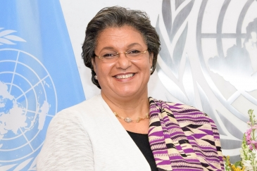 Ms. Hanna Tetteh, the United Nations Under-Secretary-General and Special Representative of the Secretary-General to the African Union