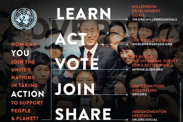We Can End Poverty: MDGs and Beyond 2015