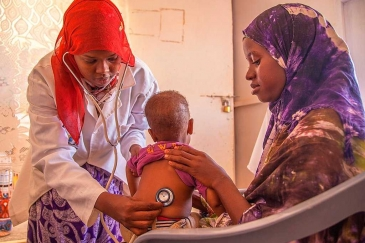 The 2020 Humanitarian Response Plan for Somalia will support health-care projects for children and other vulnerable groups.