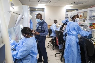 The Noguchi Advanced Research Laboratories, Ghana where samples of COVID-19 are tested.