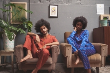 Walls of Benin loungewear. Photo: Lara Jacinto