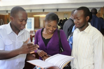 Zambian youth at a UNDP consultation. Investment in youth and their input is crucial to long-term and sustainable development. Photo: UNDP Zambia