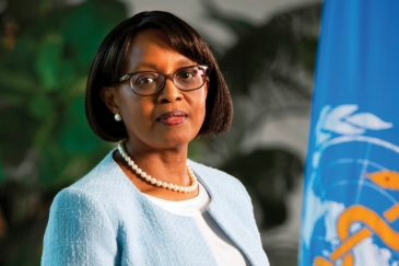 Dr. Matshidiso Moeti, head the World Health Organization's Regional Office for Africa. Photo credit: WHO
