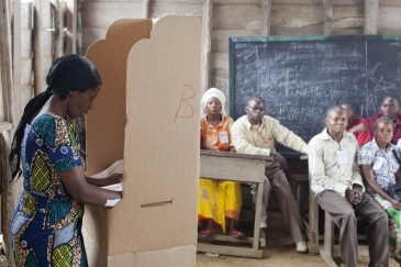 Presidential and legislative elections in DR Congo.       MONUSCO/Sylvain Liechti