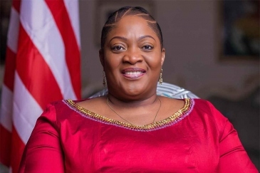 Jewel Taylor, Vice President of Liberia.