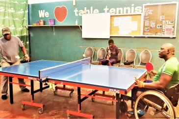 George Wyndham, a Sierra Leonean Paralympian, will be competing in table tennis in Tokyo