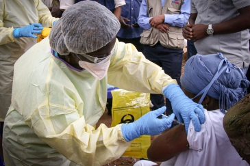 Ebola vaccination is underway in Guinea to curb new outbreak