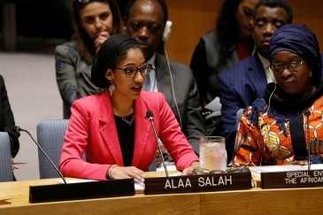 Alaa Salah, Civil Society Activist and Community Leader from Sudan