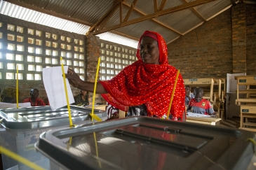 Despite a fragile security situation, Central Africans overwhelmingly exercised their civic duty by