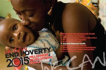 MDG poster by UN DPI