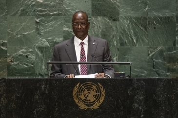 Taban Deng Gai, First Vice-President of the Republic of South Sudan