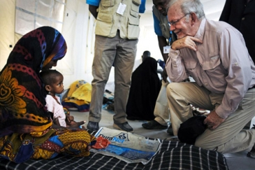 UNICEF Executive Director Anthony Lake travelled to Chad and Uganda to promote the call to action on the nutrition crisis in the Sahel and to raise awareness of ongoing polio eradication efforts