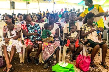 Malaria vaccine launched in Kenya. Photo by WHO