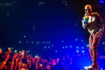 Wizkid performs in London, United Kingdom. Photo: Alamy/Michael Tubi