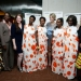 "Film Director Michele Mitchell (5th right) at the UN screening of ""The Uncondemned"" with the four women who testified before the International Criminal Tribunal for  Rwanda and Godeliève Mukasarasi of the SEVOTA support group for widows and orphans. UN Ph"