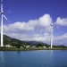 Wind turbines in Mahe, Seychelles. Photo: AP/ J.W.Alker