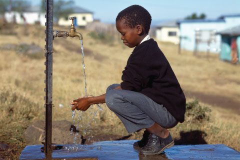 Ensuring safe drinking water is a top priority for Africa
