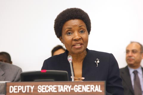 Asha-Rose Migiro, UN deputy secretary-general