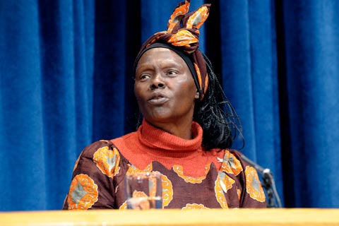 Wangari Maathai: A pioneer in linking environmental protection with human rights