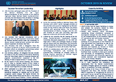 UNOCT in Review October 2019