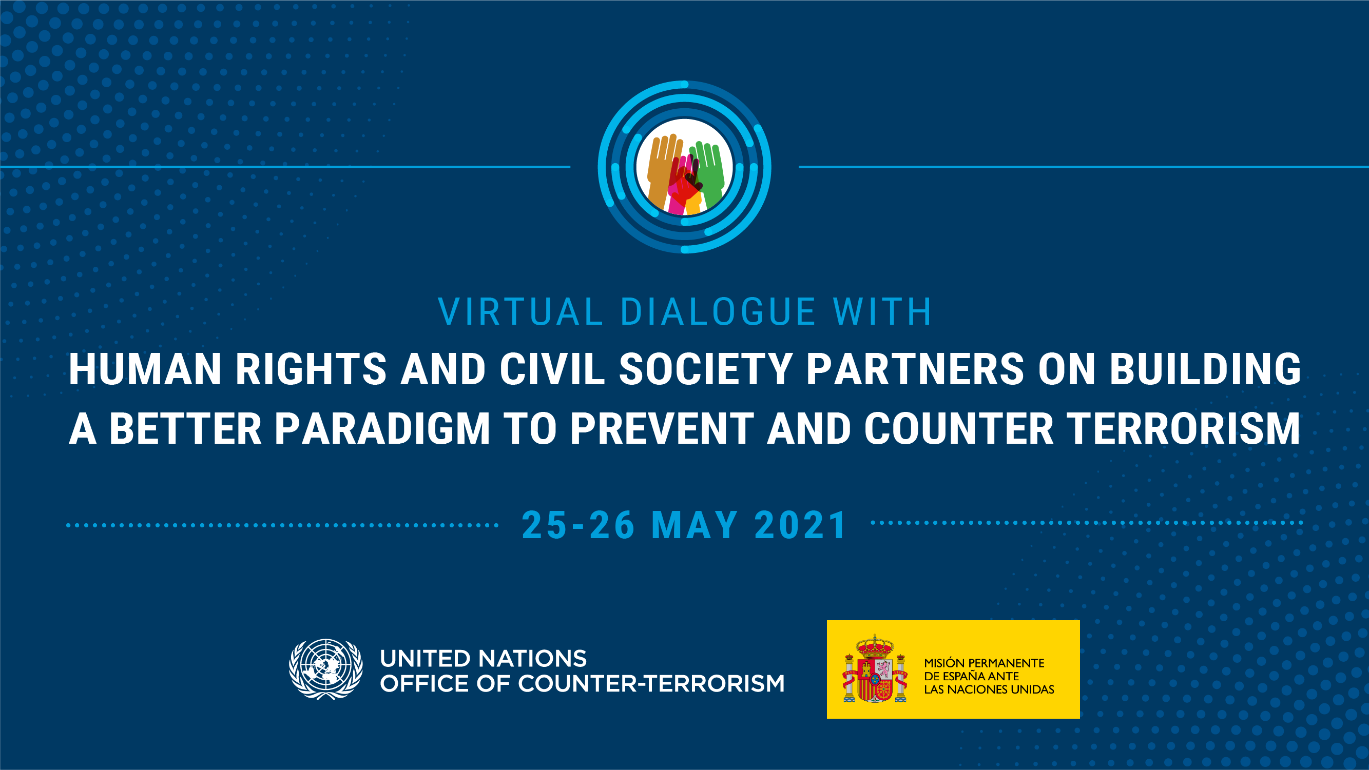Preview of the Virtual Dialogue event, May 25-26 2021