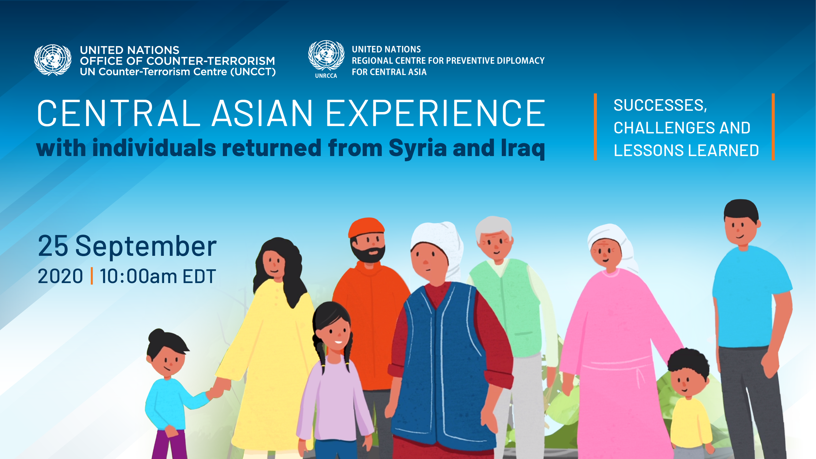 Graphic of the Central Asian Experience Event