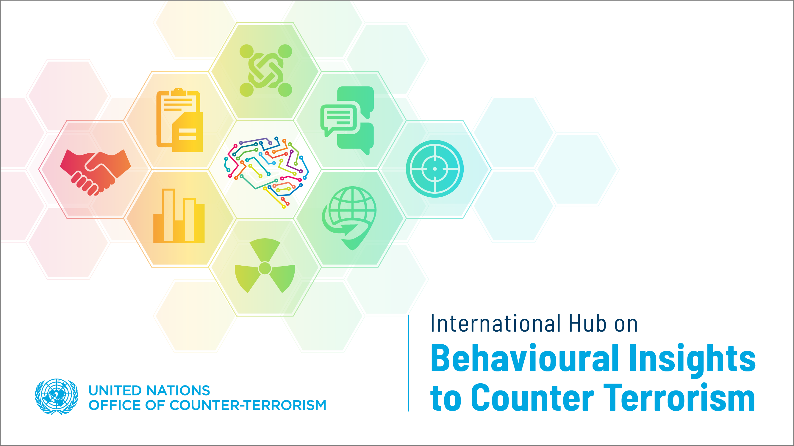 Graphic of the International Hub on Behavioural Insights to Counter Terrorism