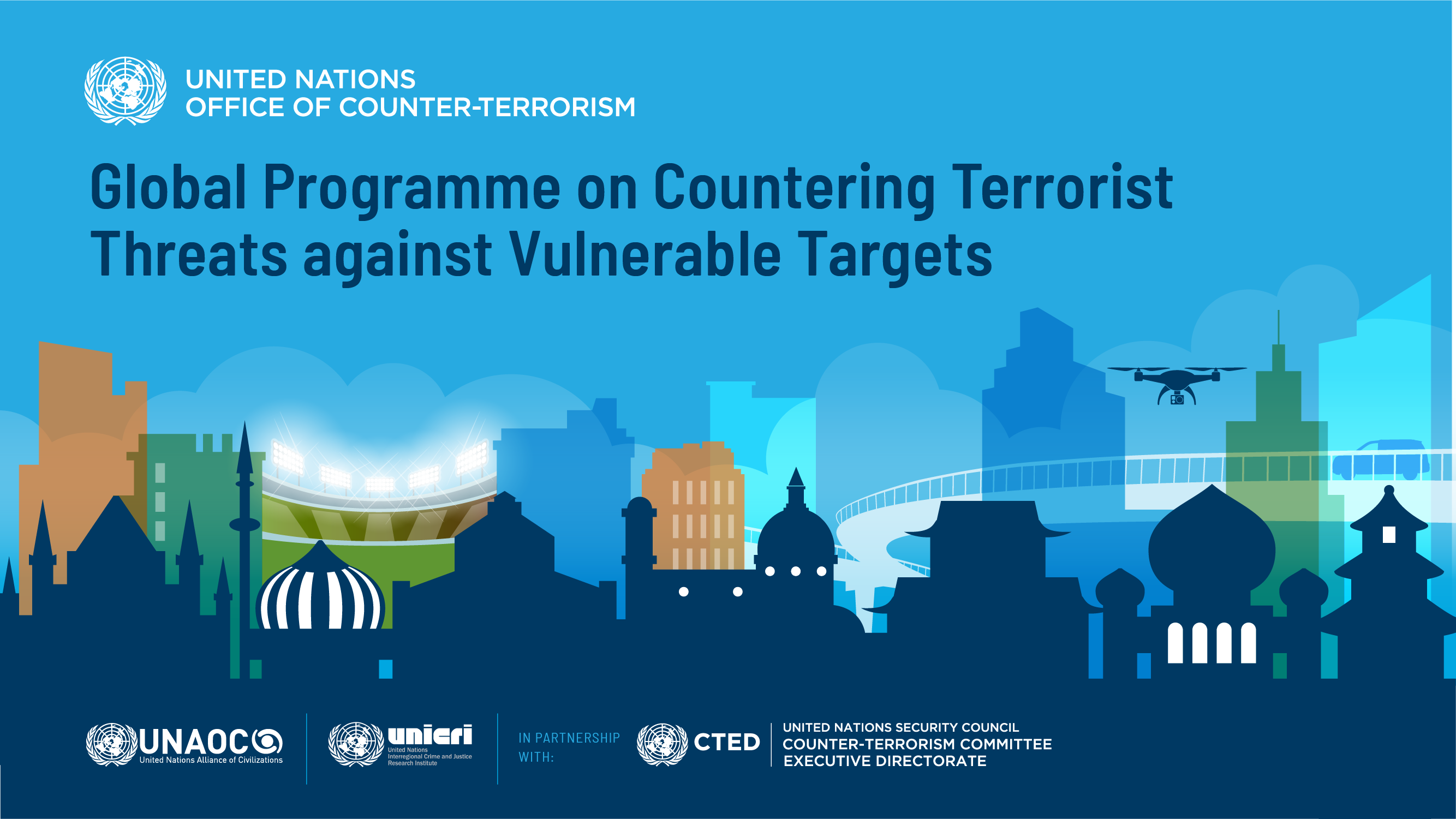 Visual Identity of the Global Programme on Countering Terrorist Threats against Vulnerable Targets