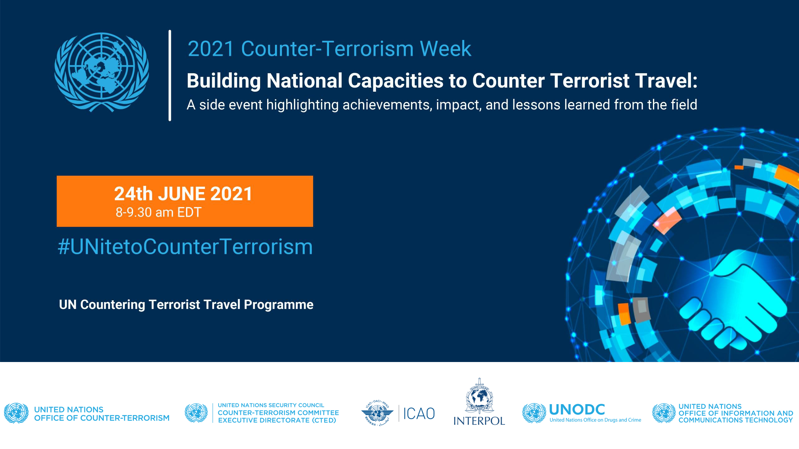 A Side Event on the UN Countering Terrorist Travel Programme