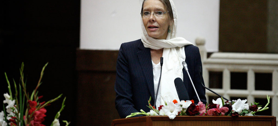 Deputy Special Representative for Afghanistan Pernille Kardel